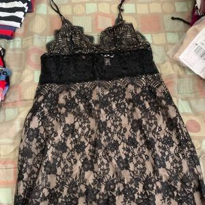Victoria's secret black dress
